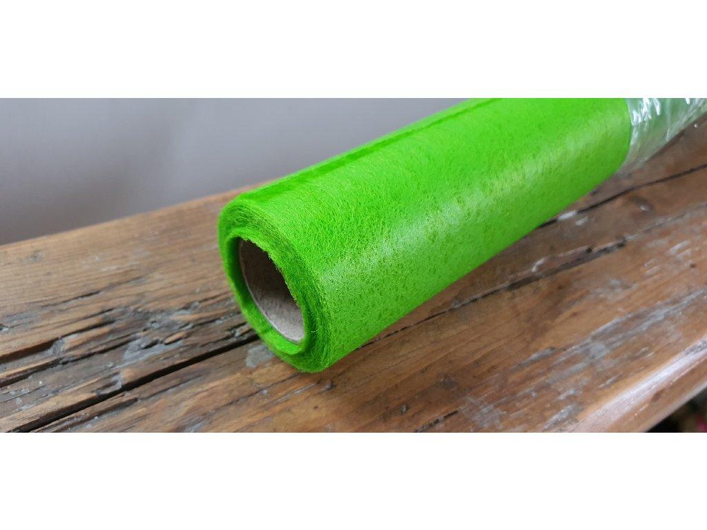 Dekoračný vlizelín 50cm/9y trávovo zelený 084