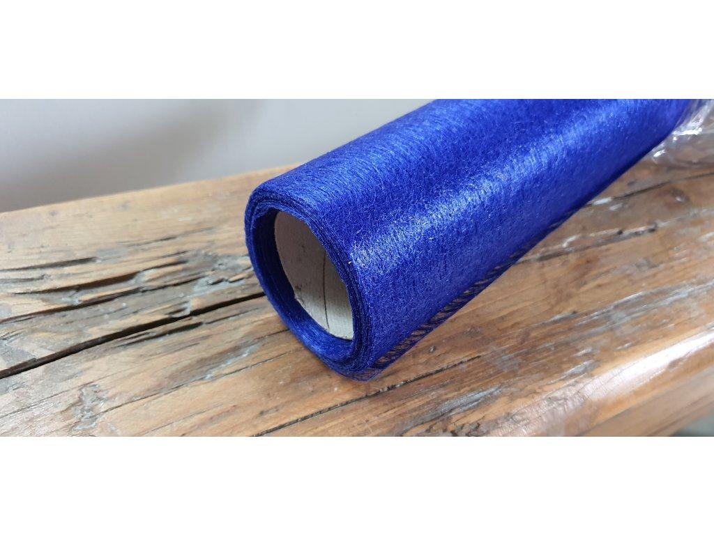 Dekoračný vlizelín 50cm/9y granátovo modrý 092