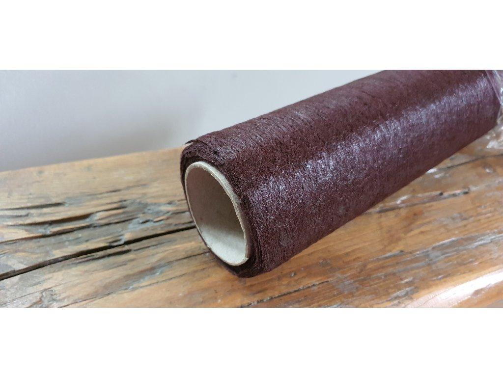 Dekoračný vlizelín 50cm/9y čokoládový 123