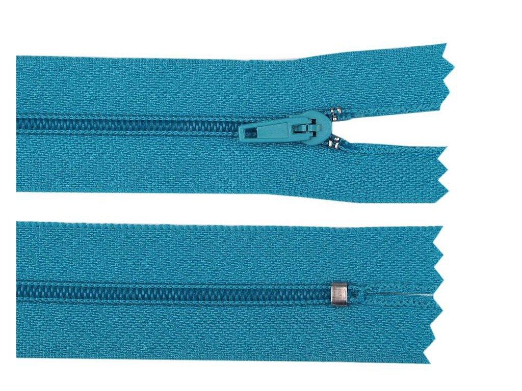 zips modrý