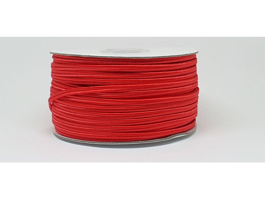 Sutaška 3mm A058 žiarivá červená