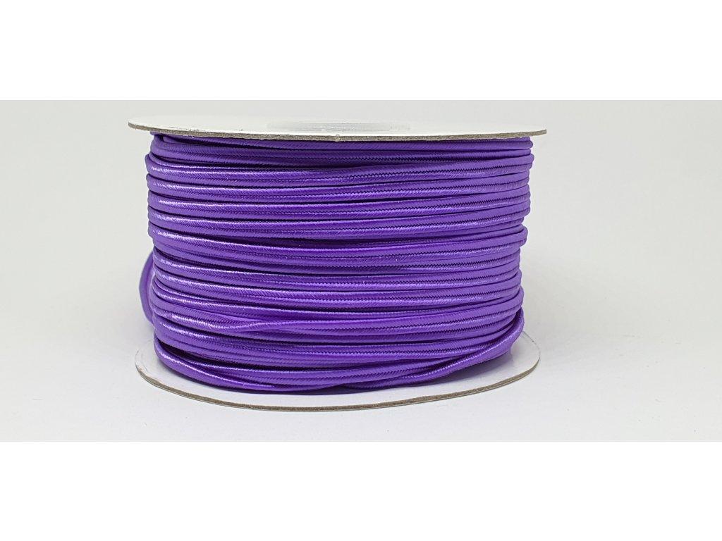 Sutaška 3mm A044 tmavá fialová