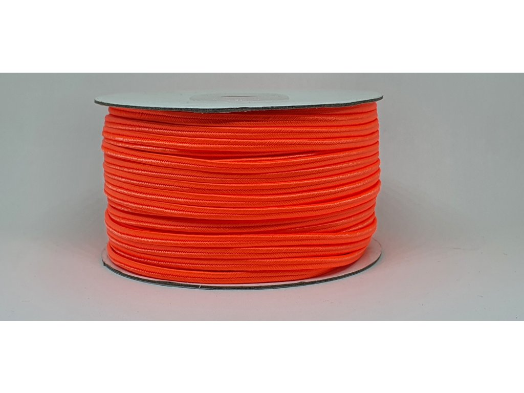 Sutaška 3mm A051 neónová oranžová