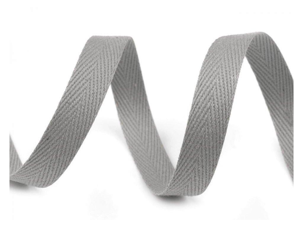 Keprovka - tkaloun 10mm šedá
