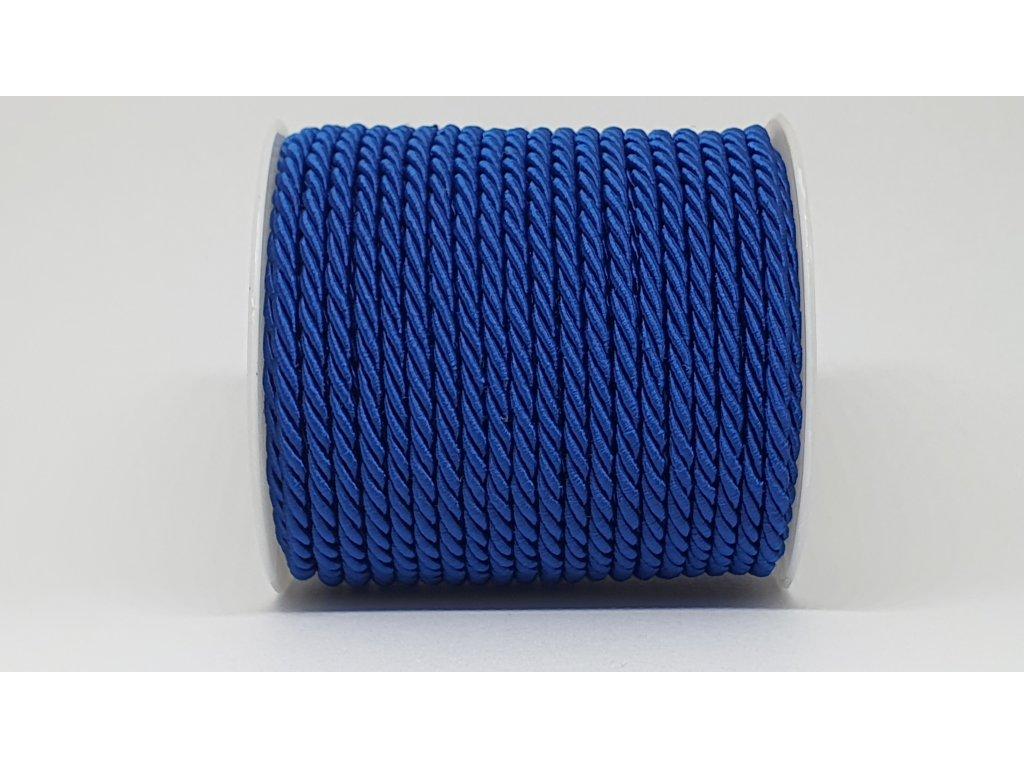 Šnúra točená Ø5mm kráľovská modrá A032