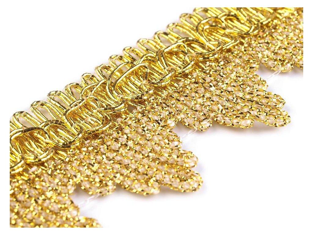 Leonský prámik zlatý 35 mm