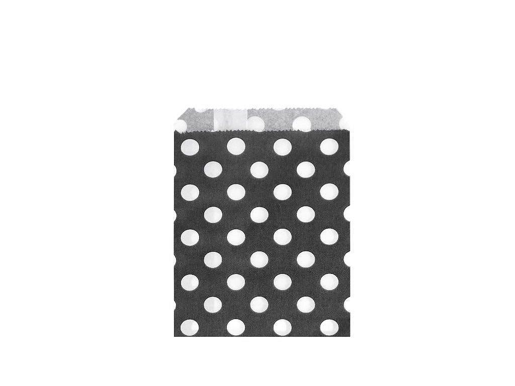 Papierový sáčok bodky 10x14cm