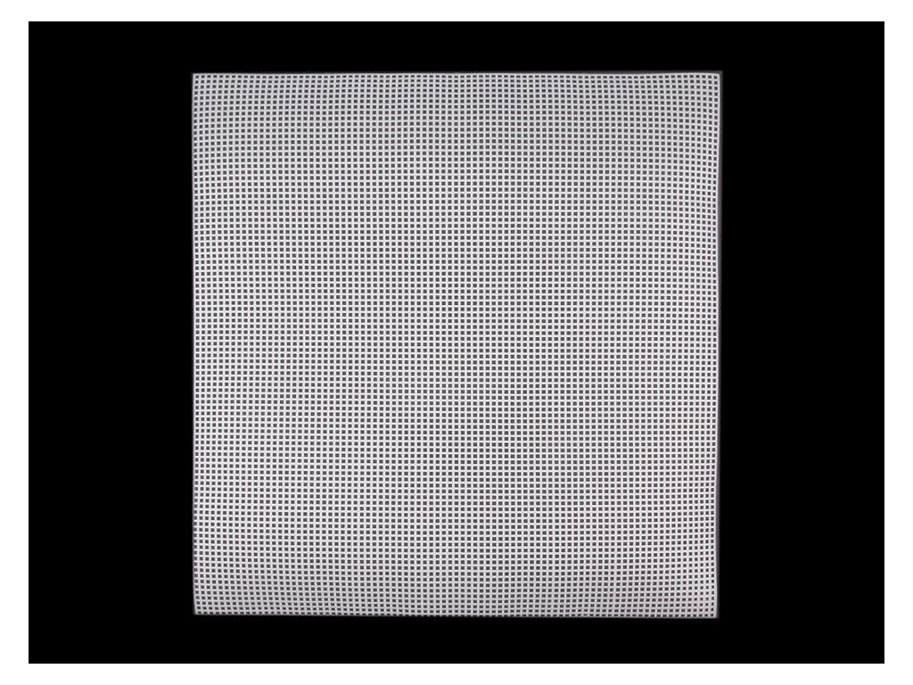 Plastová kanava / vyšívacia mriežka 37x41,5cm