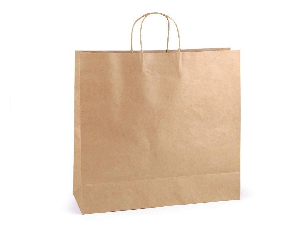Papierová taška natural 40x43cm
