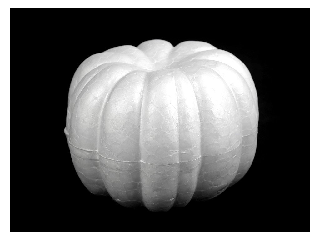 Polystyrénová tekvica 6,5x9cm