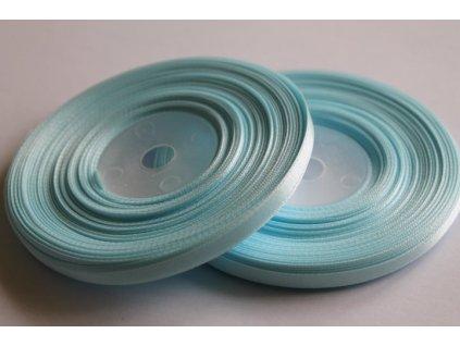 Saténová stuha 6mm A062 pastelová modrá