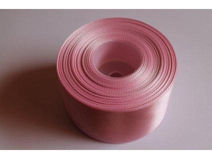 Saténová stuha 50mm A061 pastelová ružová