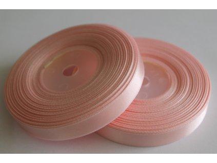 Saténová stuha 12mm A013 svetlá ružová