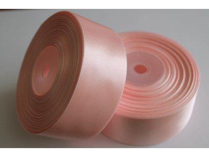 Saténová stuha 38mm A013 svetlá ružová