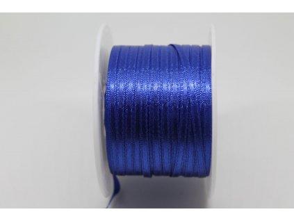 Saténová stuha 3,5mm A032 kráľovská modrá