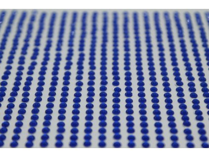Samolepiace kamienky 3 mm kráľovské modré