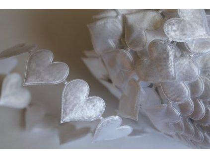 Srdiečka veľké biele