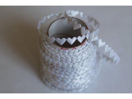 Srdiečka mini biele