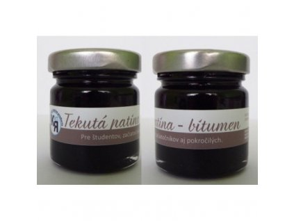 Tekutá patina bitumen 30ml