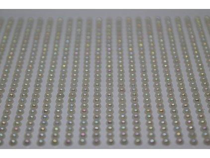 Samolepiace polperličky 3 mm krémové