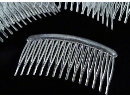 Hrebeň do vlasov plastový 80x45mm