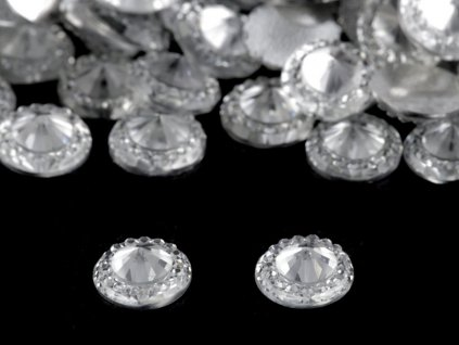 Brúsené kamienky Ø10 mm k nalepeniu
