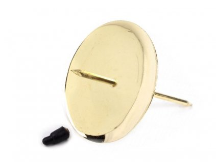 Bodec na sviečku zlatý Ø7cm