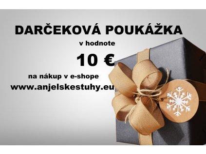 Darčeková poukážka v hodnote 10€