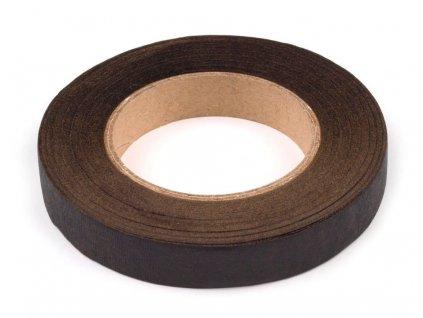 Floristická páska 12mm/27m hnedá