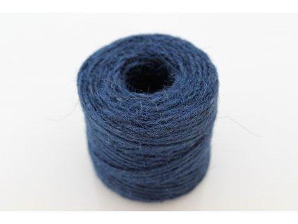 Jutový špagát 100g modrý
