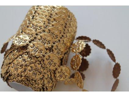 Aplikácia IHS 2cm zlatá