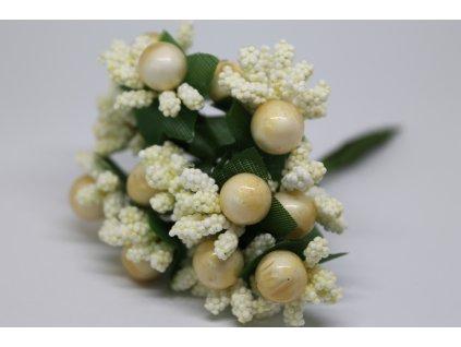 Tyčinky do kvetín ryžové s guličkami