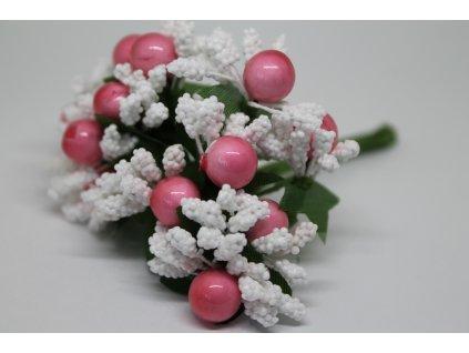Tyčinky do kvetín ryžové s guličkami 040