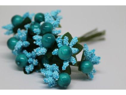 Tyčinky do kvetín ryžové s guličkami 090
