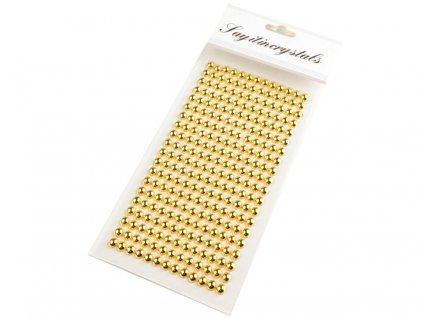 Samolepiace polperličky 6mm/260ks zlaté