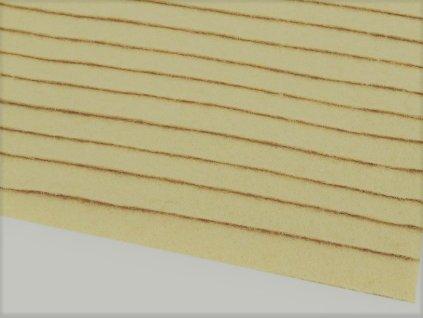 Filc tuhý 1,5 mm 014 svetlý béžový