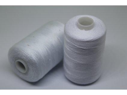 Polyesterová niť 40/2 1000y biela
