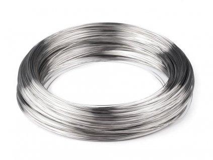 Pamäťový drôt na náhrdelník Ø15 cm 50g