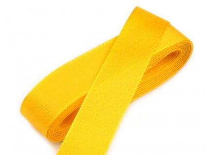Taftová stuha 6mm/10m žltá 207