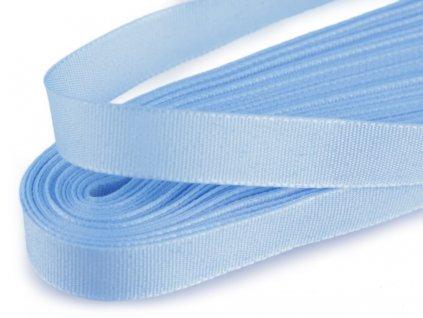 Taftová stuha 6mm/10m svetlá modrá 405