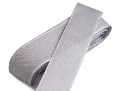 Taftová stuha 15mm/10m šedá 820