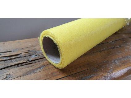 Dekoračný vlizelín 50cm/9y citrónový 021