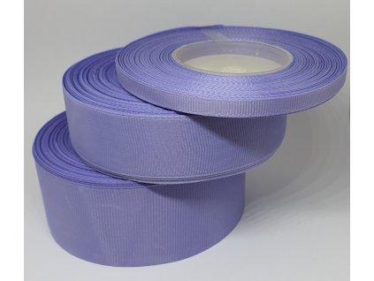 Rypsová stuha 6mm svetlá fialová 075