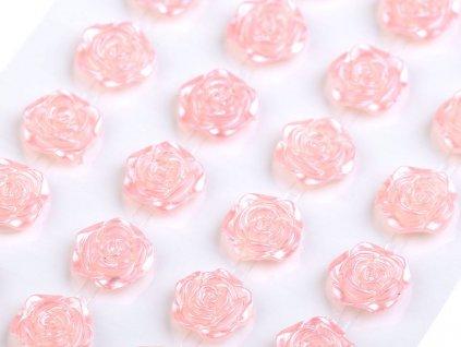 Samolepiace ruže Ø11 mm ružové