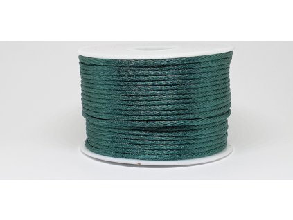 Šnúra Ø2 mm saténová borovicová zelená A043
