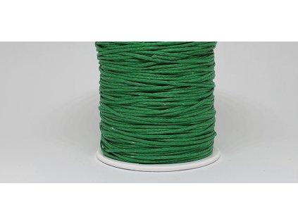 Šnúra voskovaná Ø1 mm vianočná zelená A072