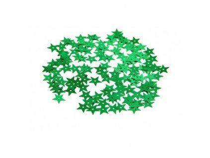 cekiny gwiazdki duze 13mm 5gram zielone