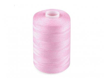 Polyesterová niť pre overlocky aj klasické šitie NTF 40/2 1000m baby ružová 644