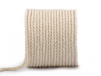 Bavlnená šnúra točená Ø5mm