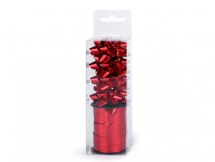 Sada na balenie darčekov červená